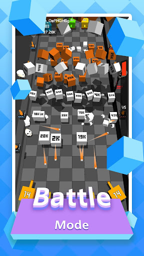 Code Triche Merge Cube - Idle Tower Defense APK MOD screenshots 3