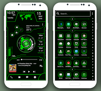 innovative launcher 2018 high tech theme apps on google play