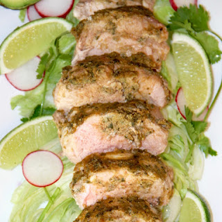 Adobo Marinated Pork Tenderloin Recipe
