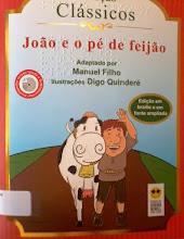 Photo: João e o pé de feijão -Coleção Clássicos Jacob, Joseph  Localização: Braille J J18j  Edição Braille e em fonte ampliada - acompanha CD com versão falada e audiodescrição -