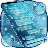 Water Bubbles SMS Theme