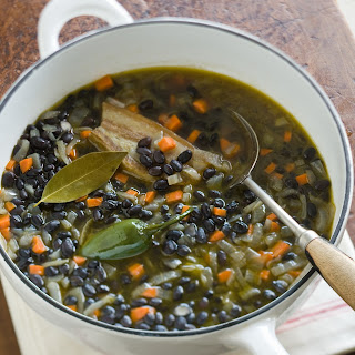 Black Beans with Chiles