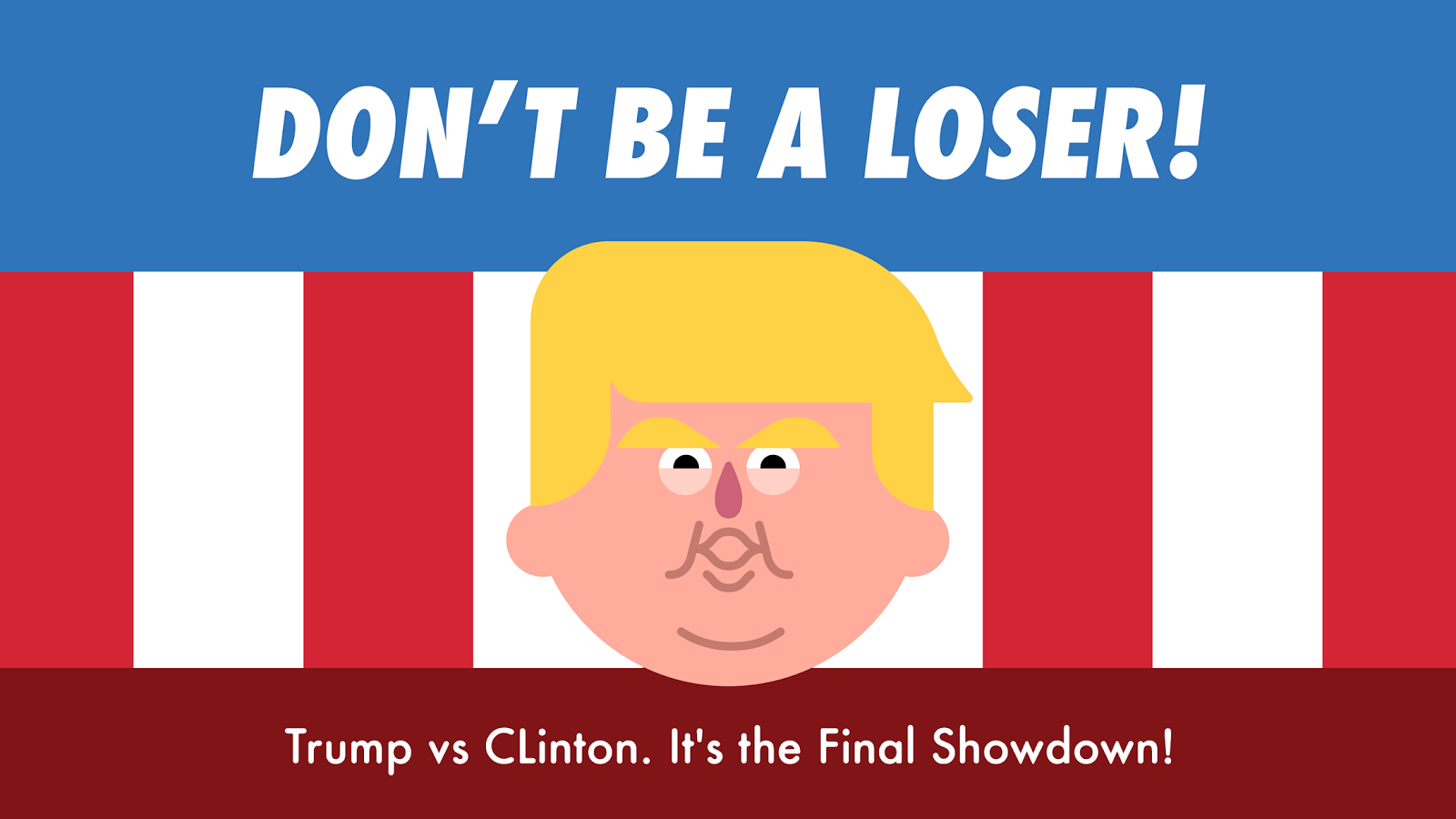 Run 4 Prez - Trump vs. Clinton- screenshot