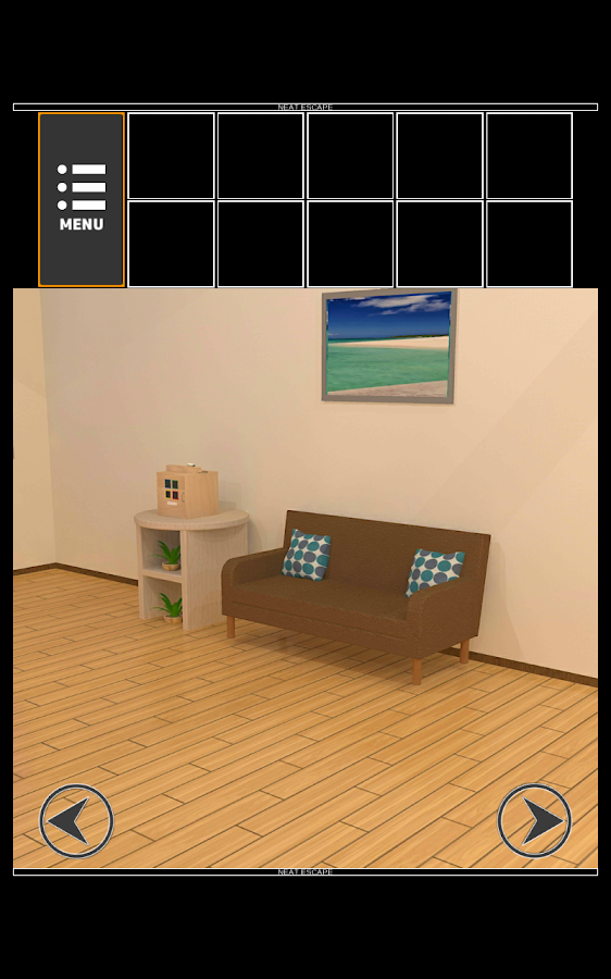 "Escape game ""Sea House""- screenshot"