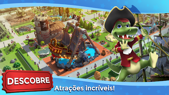 RollerCoaster Tycoon Touch Apk Mod Dinheiro Infinito 2