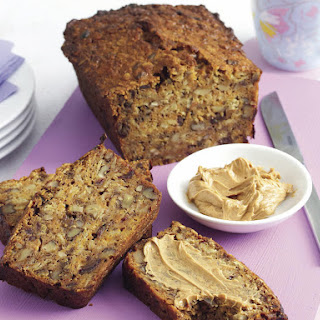 Spiced Carrot and Nut Bread with Cinnamon Butter