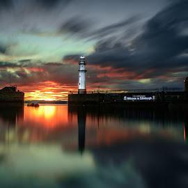 sunset by Leighton Brock - Uncategorized All Uncategorized