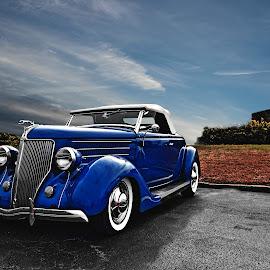1939 Ford by JEFFREY LORBER - Transportation Automobiles ( jeffrey lorber, rust 'n chrome, vintage car, ford, lorberphoto, sedan )