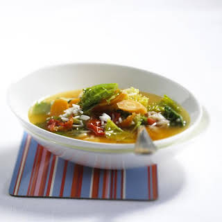Savoy Cabbage Soup.