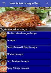 New Italian Lasagne Recipes - náhled