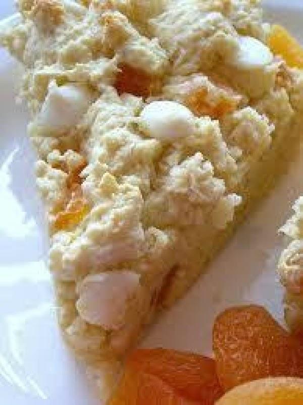 White Chocolate Apricot Scones Recipe
