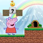 Pepa Adventure Pig World Icon