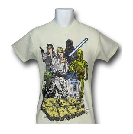 Barn T-Shirt - Star Wars - Group Shot