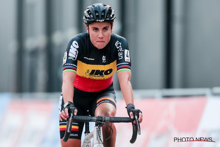 """Sanne Cant tevreden met 5e plek in Merksplas: """"Opnieuw een plaatsje dichterbij gekropen"""""""
