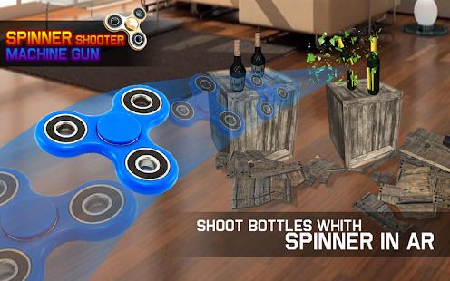 Bottle Shooter Spinner Gun - náhled