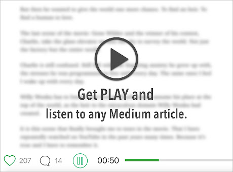 Play.ht: Audio Articles for Medium Writers