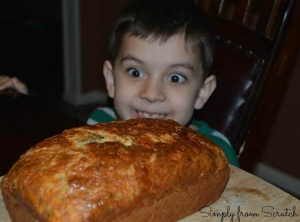 Cheesy Olive Herb Bread