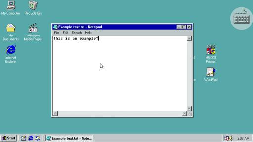 Win 98 Simulator  screenshots 14