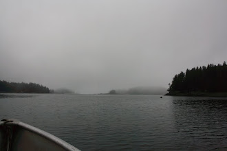 Photo: never been on the bay this foggy