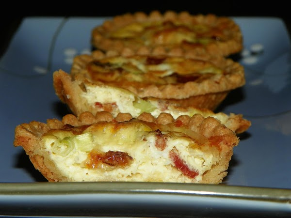 Mini Swiss Quiches Recipe