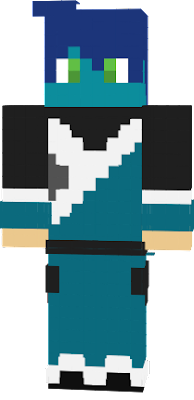 This is Teal like a villager, but not quite because he lives at the modern district, not a village.