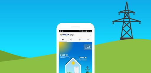 Alles in één oogopslag: uw VARTA-energieopslag - altijd en overal.