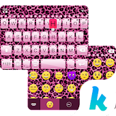 Pink Cheetah 😼 Keyboard Theme