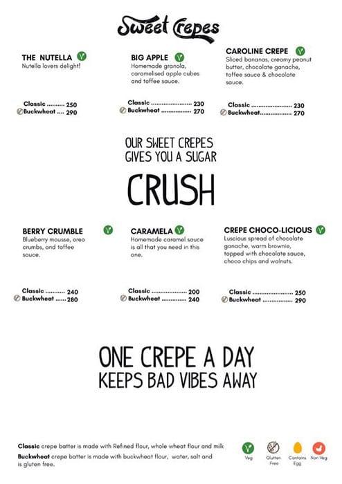 Dcrepes Cafe menu 14