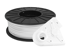 White PRO Series PLA Filament - 1.75mm (1kg)
