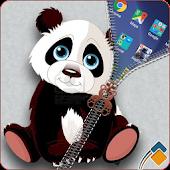 Panda Zipper Lock