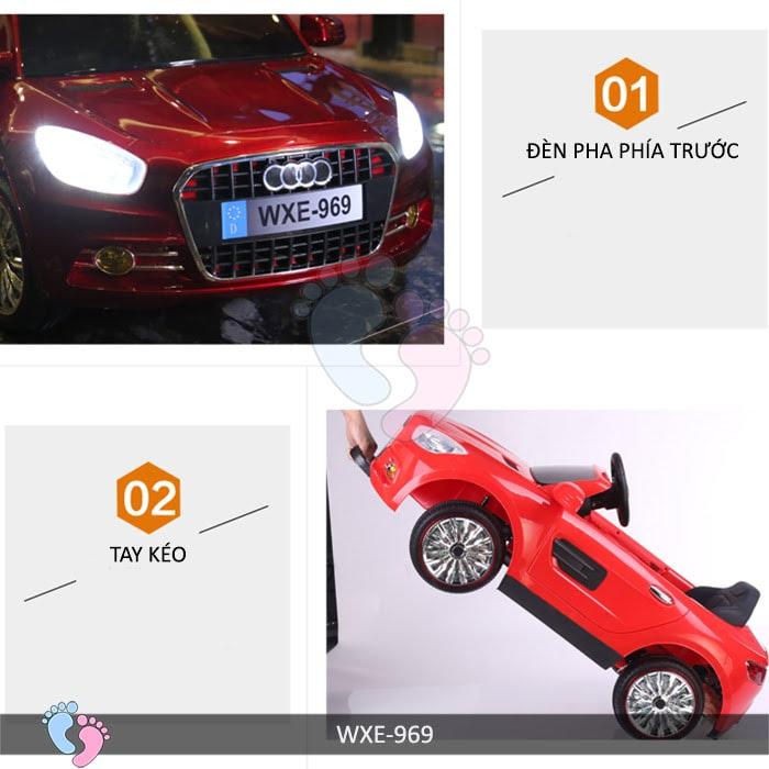 Xe ô tô điện trẻ em WXE-969 11