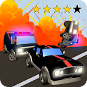 Overtake rallie - escape race game - police & cops icon