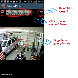 RaspberryPi Camera Viewer- screenshot thumbnail