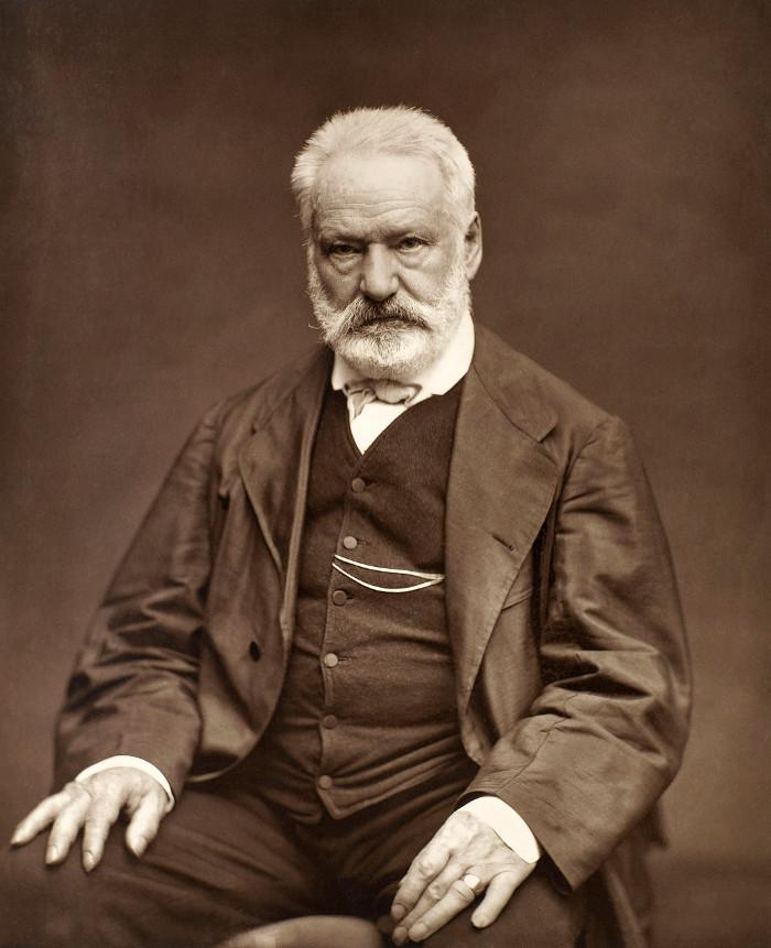 Victor Hugo (26/2/1802 - 22/5/1885).