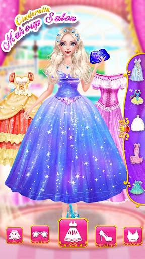 Cinderella Fashion Salon - Makeup & Dress Up 1.5.3151 screenshots 6
