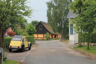 Photo: Kirke Værløse, Bygaden v. Smedegade
