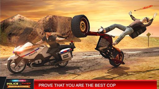 Police vs Thief MotoAttack 1.0 screenshots 3