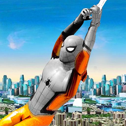 Strange Hero Spider Boy Coming home Story