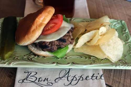 """Eileen's Juicy Burgers """"My sons wanted hamburgers for dinner. I just purchased..."""