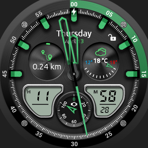 Fury Watch Face- screenshot