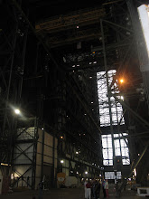 Photo: Interior of the VAB... certainly, other crafts will one day be prepped in here, but its sad to think there will be no more shuttles flying...