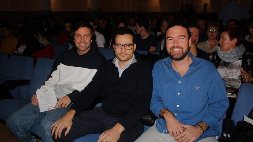Ricardo Llamas, José Antonio Sánchez, 'Treze', y Alejandro Fernández, ponentes.