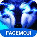 3D Wolf Keyboard Theme & Blue Lightning Keyboard APK