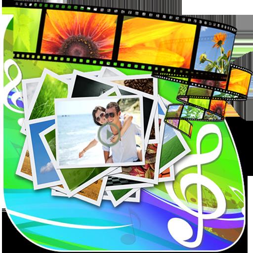 Photo Video Maker With Music 媒體與影片 App LOGO-APP試玩