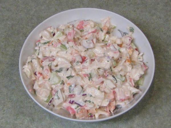Crab & Shrimp Sald Recipe