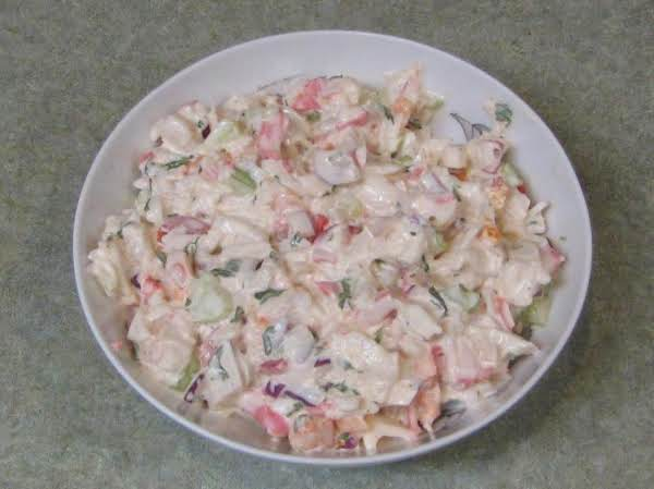 Crab & Shrimp Sald Recipe
