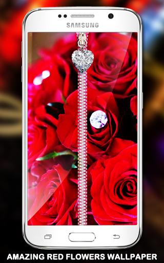 玩工具App|ピンクの愛のジッパーロック画面免費|APP試玩