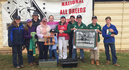 Wee Waa High School show team takes out national title