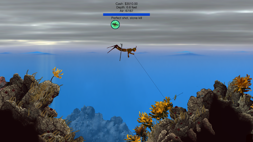 Pocket Diver - Spearfishing  screenshots 2
