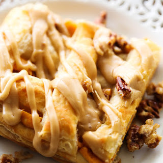 Caramel Pumpkin Puff Pastry